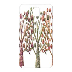 Magical Autumn Trees Samsung Galaxy Note 3 N9005 Hardshell Back Case by Valentinaart