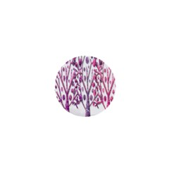 Magical Pink Trees 1  Mini Magnets by Valentinaart