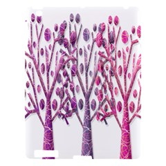 Magical Pink Trees Apple Ipad 3/4 Hardshell Case by Valentinaart