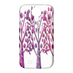 Magical Pink Trees Samsung Galaxy S4 Classic Hardshell Case (pc+silicone) by Valentinaart
