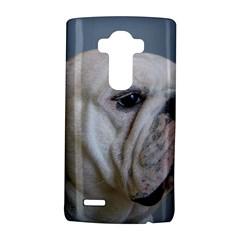 White Bulldog LG G4 Hardshell Case by TailWags