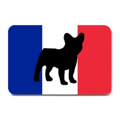 French Bulldog Silo France Flag Plate Mats by TailWags