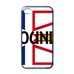 Newfoundland Name Flag Apple iPhone 4 Case (Black)