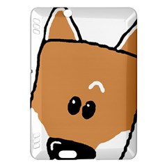 Peeping Shiba Kindle Fire HDX Hardshell Case by TailWags