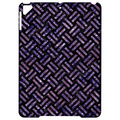 Woven2 Black Marble & Purple Marble Apple Ipad Pro 9 7   Hardshell Case by trendistuff