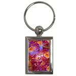 Floral Artstudio 1216 Plastic Flowers Key Chains (Rectangle)