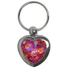 Floral Artstudio 1216 Plastic Flowers Key Chains (heart)