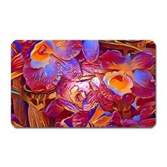 Floral Artstudio 1216 Plastic Flowers Magnet (rectangular)
