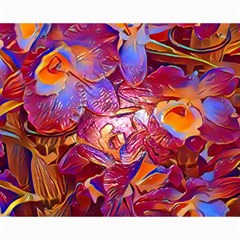 Floral Artstudio 1216 Plastic Flowers Canvas 16  X 20