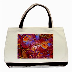 Floral Artstudio 1216 Plastic Flowers Basic Tote Bag (two Sides)
