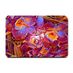 Floral Artstudio 1216 Plastic Flowers Small Doormat