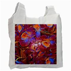 Floral Artstudio 1216 Plastic Flowers Recycle Bag (two Side)