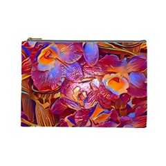 Floral Artstudio 1216 Plastic Flowers Cosmetic Bag (large)