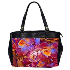 Floral Artstudio 1216 Plastic Flowers Office Handbags (2 Sides)