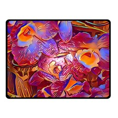 Floral Artstudio 1216 Plastic Flowers Fleece Blanket (small)