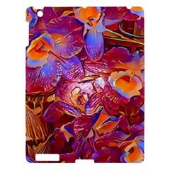 Floral Artstudio 1216 Plastic Flowers Apple Ipad 3/4 Hardshell Case