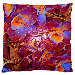 Floral Artstudio 1216 Plastic Flowers Large Cushion Case (two Sides)