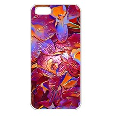 Floral Artstudio 1216 Plastic Flowers Apple Iphone 5 Seamless Case (white)