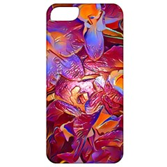 Floral Artstudio 1216 Plastic Flowers Apple Iphone 5 Classic Hardshell Case