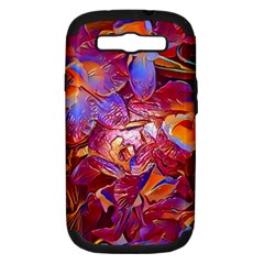 Floral Artstudio 1216 Plastic Flowers Samsung Galaxy S Iii Hardshell Case (pc+silicone)