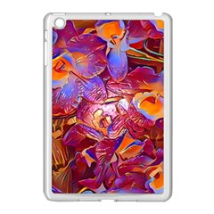 Floral Artstudio 1216 Plastic Flowers Apple Ipad Mini Case (white)