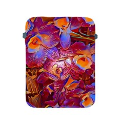 Floral Artstudio 1216 Plastic Flowers Apple Ipad 2/3/4 Protective Soft Cases