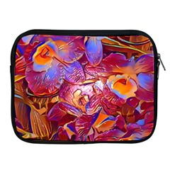 Floral Artstudio 1216 Plastic Flowers Apple Ipad 2/3/4 Zipper Cases
