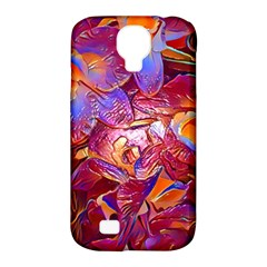 Floral Artstudio 1216 Plastic Flowers Samsung Galaxy S4 Classic Hardshell Case (pc+silicone)