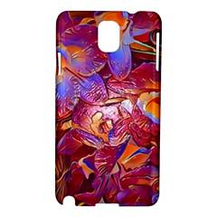 Floral Artstudio 1216 Plastic Flowers Samsung Galaxy Note 3 N9005 Hardshell Case