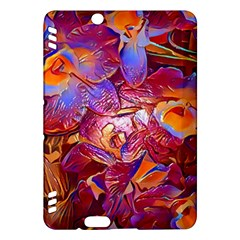 Floral Artstudio 1216 Plastic Flowers Kindle Fire Hdx Hardshell Case