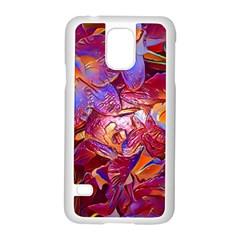 Floral Artstudio 1216 Plastic Flowers Samsung Galaxy S5 Case (white)