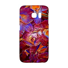 Floral Artstudio 1216 Plastic Flowers Galaxy S6 Edge