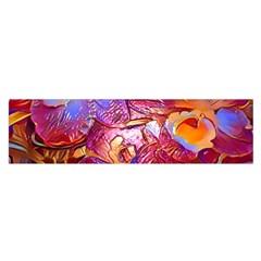Floral Artstudio 1216 Plastic Flowers Satin Scarf (oblong)