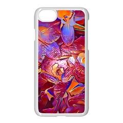 Floral Artstudio 1216 Plastic Flowers Apple Iphone 7 Seamless Case (white)