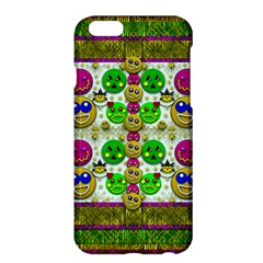 Smile And The Whole World Smiles With You Apple Iphone 6 Plus/6s Plus Hardshell Case by pepitasart