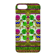 Smile And The Whole World Smiles With You Apple Iphone 7 Plus Hardshell Case by pepitasart