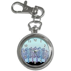 Blue Magical Hill Key Chain Watches by Valentinaart