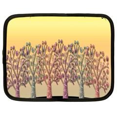 Magical Sunset Netbook Case (xl)  by Valentinaart