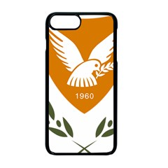 Coat Of Arms Of Cyprus Apple Iphone 7 Plus Seamless Case (black)