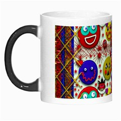 Smile And The Whole World Smiles  On Morph Mugs by pepitasart