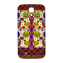 Smile And The Whole World Smiles  On Samsung Galaxy S4 I9500/i9505  Hardshell Back Case by pepitasart