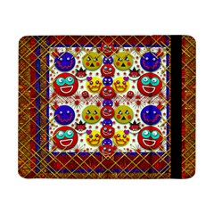 Smile And The Whole World Smiles  On Samsung Galaxy Tab Pro 8 4  Flip Case by pepitasart