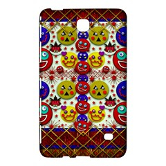 Smile And The Whole World Smiles  On Samsung Galaxy Tab 4 (8 ) Hardshell Case  by pepitasart