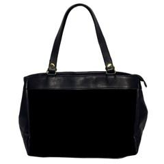 Simple Black Office Handbags (2 Sides)  by Valentinaart