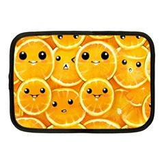 Cute Orange  Netbook Case (medium)  by Brittlevirginclothing