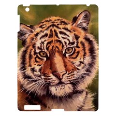 Tiger Cub Apple Ipad 3/4 Hardshell Case by ArtByThree