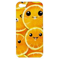 Cute Orange  Apple Iphone 5 Hardshell Case by Brittlevirginclothing