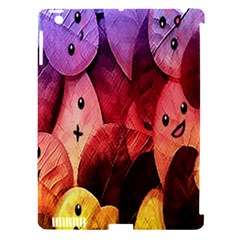 Cute Leaves  Apple Ipad 3/4 Hardshell Case (compatible With Smart Cover) by Brittlevirginclothing