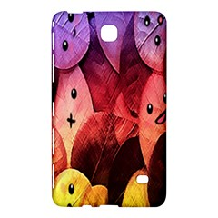 Cute Leaves  Samsung Galaxy Tab 4 (8 ) Hardshell Case  by Brittlevirginclothing