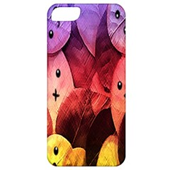 Cute Leaves Apple Iphone 5 Classic Hardshell Case by Brittlevirginclothing